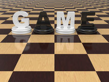 Het concept van het spel. Royalty-vrije Stock Afbeelding