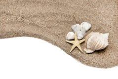 Het concept van het strand Stock Foto
