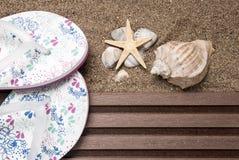 Het concept van het strand Royalty-vrije Stock Afbeelding