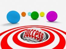 Het concept van het succes Royalty-vrije Stock Fotografie