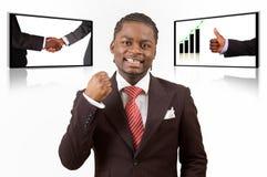 Het Concept van het succes stock afbeeldingen