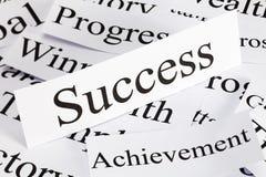 Het Concept van het succes Stock Afbeelding