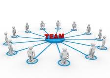 Het concept van het team Royalty-vrije Stock Fotografie