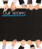 Het concept van het team Stock Foto