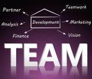 Het concept van het team Royalty-vrije Stock Afbeelding