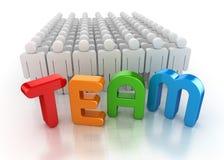 Het concept van het team Royalty-vrije Stock Foto