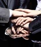 Het concept van het teamwerk royalty-vrije stock afbeeldingen