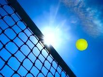 Het concept van het tennis. Stock Afbeeldingen