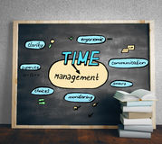 Het Concept van het tijdbeheer Royalty-vrije Stock Afbeeldingen