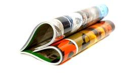 Het concept van het tijdschrift Stock Afbeelding