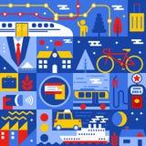 Het concept van het vervoer Royalty-vrije Stock Foto