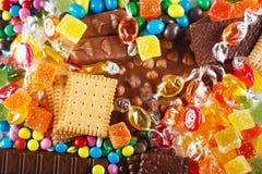 Het concept van het voedsel stock afbeelding