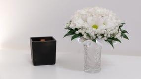 Het concept van huwelijksbloemen Stock Foto's