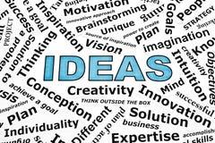 Het Concept van ideeën Royalty-vrije Stock Afbeeldingen