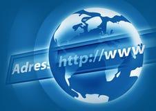 Het Concept van Internet Stock Fotografie