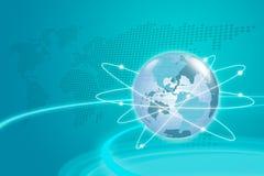 Het Concept van Internet. Vector Illustratie