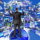 Het concept van Internet Stock Afbeeldingen