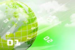 Het Concept van Internet globale zaken Stock Foto