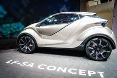 Het Concept van Lexus LF-SA, Motorshow Geneve 2015 Royalty-vrije Stock Fotografie