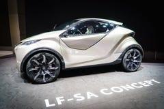 Het Concept van Lexus LF-SA, Motorshow Geneve 2015 Royalty-vrije Stock Foto
