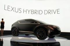 Het Concept van LF-Xh van Lexus Stock Afbeelding