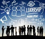 Het Concept van Management Authority Director van de leidingsleider vector illustratie