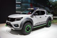 Het Concept van Nissan Navara EnGuard Stock Afbeelding
