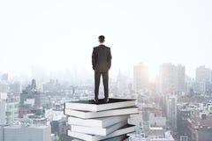 Het concept van het onderwijs en van de kennis royalty-vrije stock foto