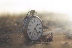 Het concept van ontspant en droomt voor een bedrijfsvrouw stock afbeeldingen