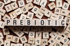 Het concept van het Prebioticwoord stock afbeeldingen