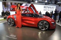 Het Concept van Renault Dezir Stock Afbeelding