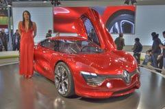 Het Concept van Renault Dezir Royalty-vrije Stock Foto's