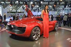 Het Concept van Renault Dezir Stock Foto's