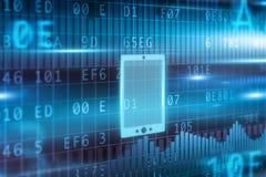Het concept van Smartphone Stock Afbeeldingen