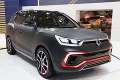 2015 het Concept van Ssangyong XLV Stock Foto's