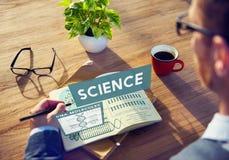 Het Concept van Study Technology Chemistry van de wetenschapswetenschapper royalty-vrije stock afbeeldingen