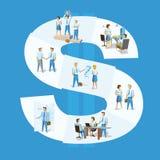 Het concept van Team Leader van de bedrijfsmensengroep Stock Foto