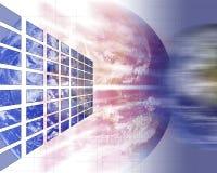 Het concept van technologie royalty-vrije illustratie