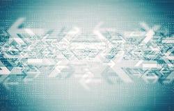 Het Concept van technologierichtingen Royalty-vrije Stock Foto