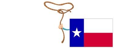 Het concept van Texas Texas Flag Royalty-vrije Stock Foto's