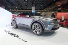Het Concept van Toyota c-u - wereldpremière Stock Afbeelding