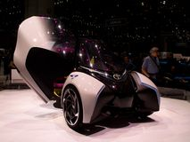 Het Concept van Toyota I-TRIL in Genève 2017 Royalty-vrije Stock Foto's