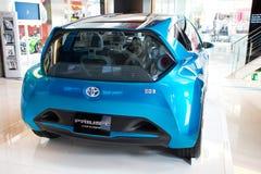 Het Concept van Toyota Prius C Stock Foto