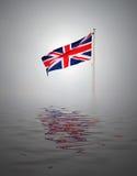 Het concept van Union Jack Royalty-vrije Stock Fotografie