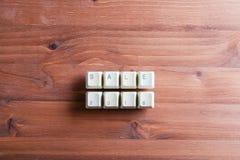 Het concept van het verkoopwoord 2018 op de sleutelsknopen van het computertoetsenbord op een wo royalty-vrije stock afbeelding