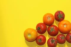 Het concept van het voedsel Rode tomaten Royalty-vrije Stock Fotografie