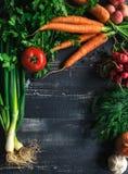 Het concept van voedselrecepten Stock Fotografie