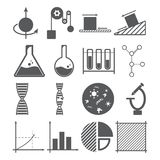 Het concept van wetenschapspictogrammen vector illustratie