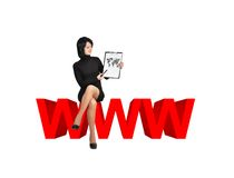 Het concept van Www Stock Fotografie