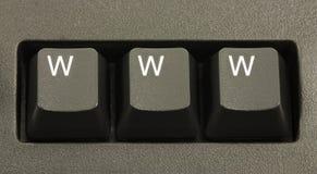 Het Concept van WWW Internet Stock Fotografie